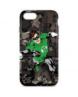 Green Lantern Mixed Media iPhone 8 Pro Case