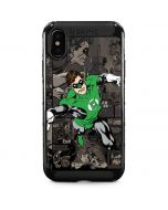 Green Lantern Mixed Media iPhone XS Max Cargo Case