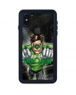 Green Lantern Power Up iPhone XS Waterproof Case
