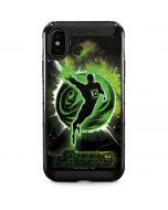 Green Lantern Stars iPhone XS Max Cargo Case