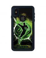 Green Lantern Stars iPhone XS Waterproof Case