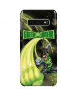 Green Lantern Super Punch Galaxy S10 Plus Lite Case