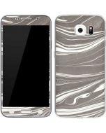 Grey Marble Galaxy S6 Skin