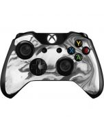 Grey Marble Ink Xbox One Controller Skin