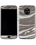 Grey Marble Moto X4 Skin