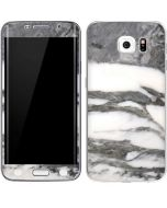 Grey Marbling Galaxy S6 Edge Skin