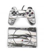 Grey Marbling PlayStation Classic Bundle Skin