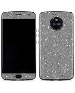 Grey Speckle Moto X4 Skin