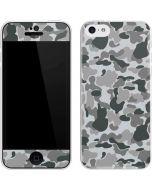 Grey Street Camo iPhone 5c Skin