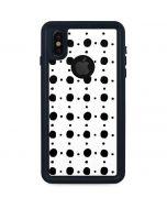 Grid Dot iPhone XS Waterproof Case