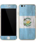 Guatemala Flag Distressed iPhone 6/6s Skin