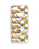 Gudetama Blast Pattern Google Pixel 3 XL Clear Case
