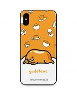 Gudetama Egg Shell iPhone XS Skin