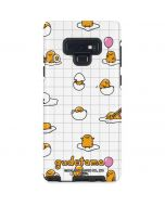 Gudetama Grid Pattern Galaxy Note 9 Pro Case
