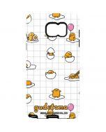 Gudetama Grid Pattern Galaxy Note5 Pro Case