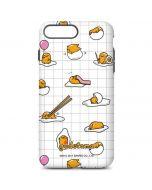 Gudetama Grid Pattern iPhone 8 Plus Pro Case