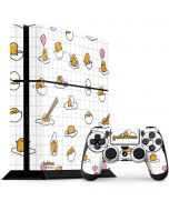 Gudetama Grid Pattern PS4 Console and Controller Bundle Skin