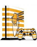 Gudetama Put Me Down PS4 Console and Controller Bundle Skin