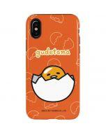 Gudetama Shell Pattern iPhone X Pro Case