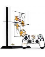 Gudetama Square Grid PS4 Console and Controller Bundle Skin