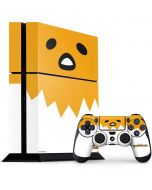 Gudetama Up Close Shell PS4 Console and Controller Bundle Skin