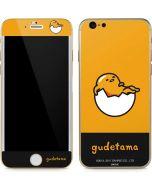 Gudetama Yellow Split iPhone 6/6s Skin