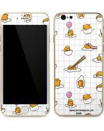 Gudetama Grid Pattern iPhone 6/6s Skin