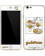 Gudetama Square Grid iPhone 6/6s Skin