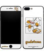 Gudetama Square Grid iPhone 8 Plus Skin