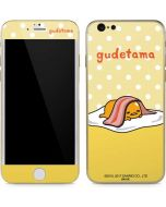 Gudetama Polka Dots iPhone 6/6s Skin