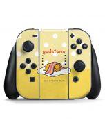 Gudetama Polka Dots Nintendo Switch Joy Con Controller Skin