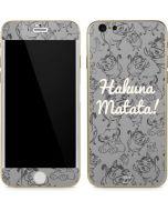 Hakuna Matata iPhone 6/6s Skin