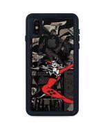 Harley Quinn Mixed Media iPhone X Waterproof Case
