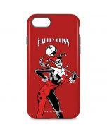 Harley Quinn Portrait iPhone 8 Pro Case