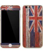Hawaiian Flag Dark Wood iPhone 6/6s Skin