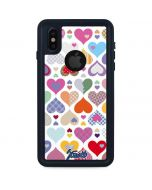 Heartless iPhone XS Waterproof Case
