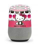 Hello Kitty Big Apples Google Home Skin