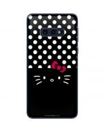 Hello Kitty Black Galaxy S10e Skin