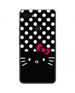 Hello Kitty Black Google Pixel 3 XL Skin