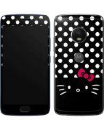 Hello Kitty Black Moto G5 Plus Skin