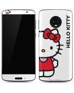 Hello Kitty Classic White Moto G6 Skin