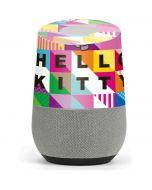 Hello Kitty Color Design Google Home Skin