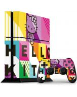 Hello Kitty Color Design PS4 Console and Controller Bundle Skin