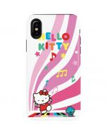 Hello Kitty Dancing Notes iPhone XS Max Pro Case