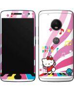 Hello Kitty Dancing Notes Moto G5 Plus Skin