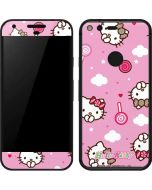 Hello Kitty Lollipop Pattern Google Pixel Skin