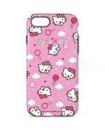 Hello Kitty Lollipop Pattern iPhone 8 Pro Case