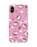 Hello Kitty Lollipop Pattern iPhone XS Max Lite Case