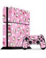 Hello Kitty Lollipop Pattern PS4 Console and Controller Bundle Skin