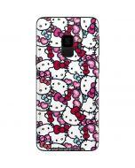 Hello Kitty Multiple Bows Galaxy S9 Skin